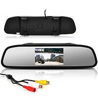 Зеркало заднего вида со встроенным 4,3 дюймовым монитором TFT Color LCD Monitor 439B AV, Регистратор, навигатор, видеорегистратор