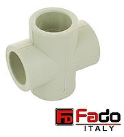 Крестовина PPR 32 мм полипропиленовая FADO Италия