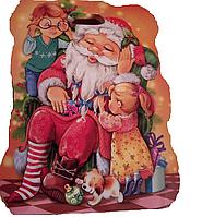 """Новогодний набор """"Санта з детьми"""" 300г"""