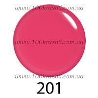 Гель-лак G.La Color, 10ml, цвет №201 (яркий малиново-розовый)