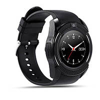 Умные часы телефон Lemfo Smart Watch V8 оригинал, bluetooth, камера, плеер, шагомер QualitiReplica, фото 1