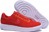 Красные кроссовки Nike Air Force 1 Ultra Flyknit Low Red University.