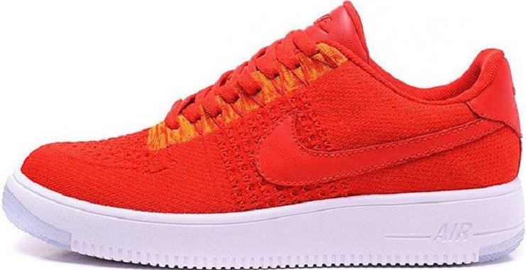 aa41c80a ... Красные кроссовки Nike Air Force 1 Ultra Flyknit Low Red University.,  ...