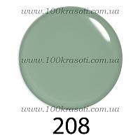 Гель-лак G.La Color, 10ml, цвет №208 (светлый зелено-салатовый полупрозрачный), фото 1