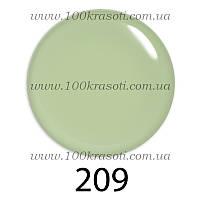 Гель-лак G.La Color, 10ml, цвет №209 (светлый молочно-салатовый)