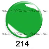 Гель-лак G.La Color, 10ml, цвет №214 (насыщенный зеленый)