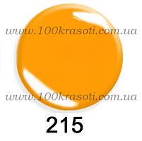 Гель-лак G.La Color, 10ml, цвет №215 (насыщенный ярко-оранжевый)