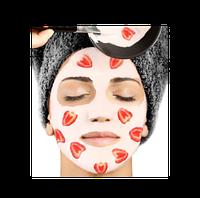 Регенерирующая и омолаживающая маска с экстрактом клубники,500 мл