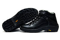 Ботинки зимние мужские, Step Wey Active, на меху, натуральная кожа, черные, р. 43