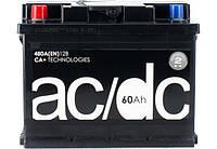 Аккумулятор 60 Ah 12V (1) AC,DC