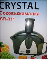 Электрическая Соковыжималка Crystal CR 311, Кухонный комбайн, кухонный процессор, измельчитель