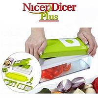 Овощерезка Nicer Dicer Plus, Кухонный комбайн, кухонный процессор, измельчитель