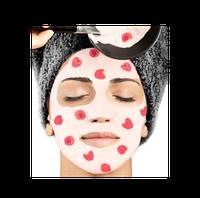 Питательная осветляющая маска с эктрактом малины,500 мл