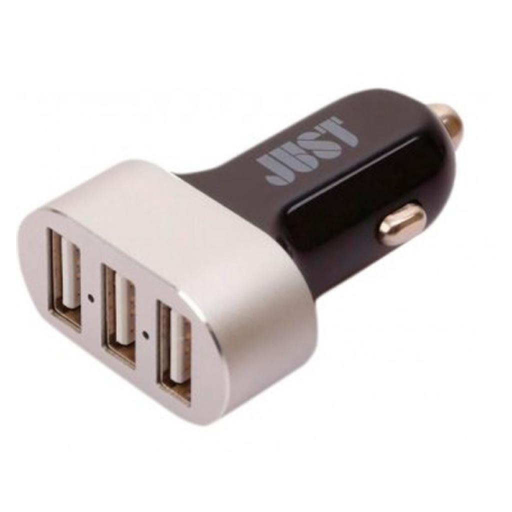 Зарядное устройство JUST Evo Trio USB Car Charger (6.3A/31W, 3*USB) (C