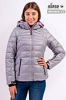 Женская зимняя куртка Avecs 7749268 Grey качественная наполнитель тинсулейт недорого | Avecs куртка размер