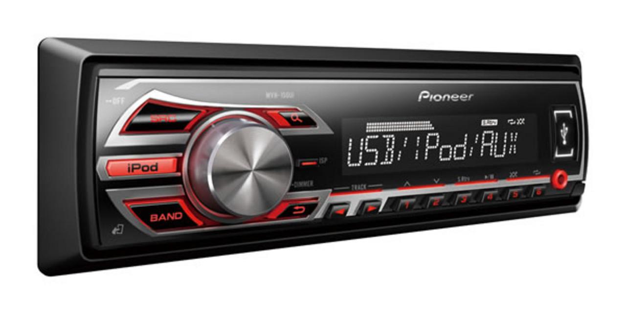 Автомагнитола Pioneer MVH-150UI. Без дисковый MP3/USB.