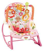 """Кресло-качалка c вибрацией 3в1 """" Кролик Банни"""" Fisher-Price Infant To Toddler Rocker, Bunny, фото 1"""