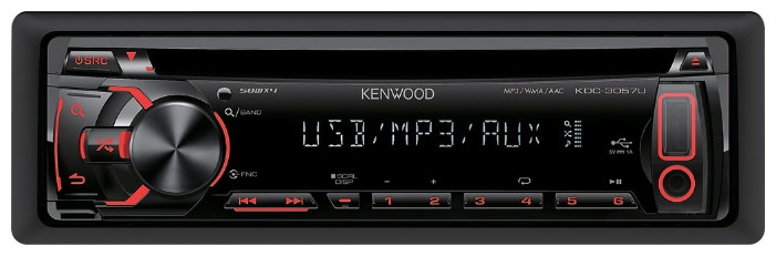 Головное устройство Kenwood KDC-3057URY, KDC-3057UG. Автомагнитола., фото 1