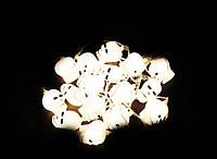 Оригинальный Универсальный Светящийся Брелок Череп для Тематической вечеринки Маскарад