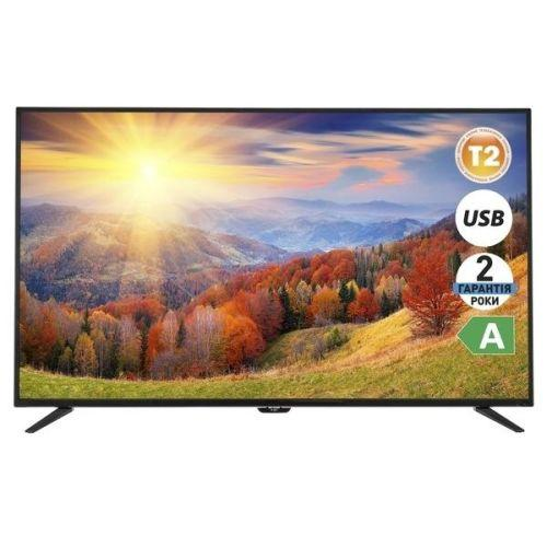"Телевизор 55"" ERGO LE55CT2000AK / LED Full HD 1920x1080 60Hz / DVB-T2 / VGA, HDMI, USB / VESA (200x2 - Компьютерный Мастер в Каменском"