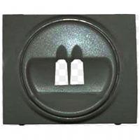 Legrand Galea Life лицевая панель розетка для акустических систем темная бронза