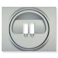 Legrand Galea Life лицевая панель розетка для акустических систем алюминий
