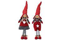 Новогодняя декоративная кукла, 2 вида BonaDi 711-183