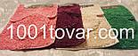 """Набор из 3-х ковриков из микрофибры """"Макароны или дреды"""" в ванную 80х50 см. и туалет 40х50 см., 45х35 см., фото 7"""