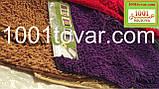 """Набор из 3-х ковриков из микрофибры """"Макароны или дреды"""" в ванную 80х50 см. и туалет 40х50 см., 45х35 см., фото 6"""