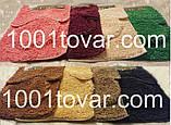 """Набор из 3-х ковриков из микрофибры """"Макароны или дреды"""" в ванную 80х50 см. и туалет 40х50 см., 45х35 см., фото 5"""