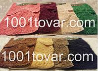 """Набор из 3-х ковриков из микрофибры """"Макароны или дреды"""" в ванную 80х50 см. итуалет 40х50 см., 45х35 см."""