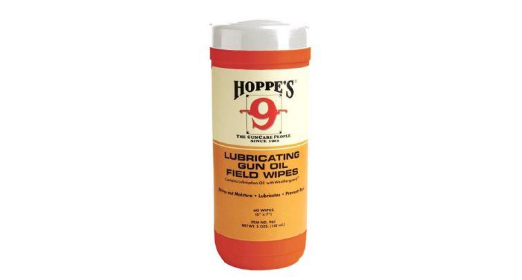Промасленные салфетки для чистки оружия Hoppe's