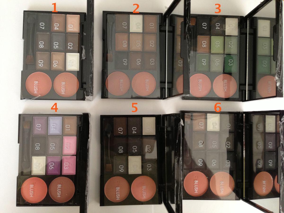 MAX FACTOR Тени 8 colour Max eyeshadow
