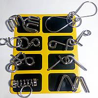 Набор из 8 металлических проволочных головоломок