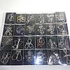 Коллекция из 24 проволочных металлических головоломок Puzzles De Steel