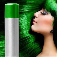 Спрей-краска для волос Зеленая временная баллончик аэрозоль 250 мл
