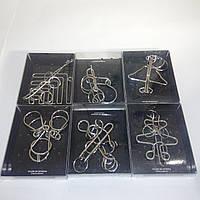 Коллекция из 6 проволочных металлических головоломок Puzzles De Steel