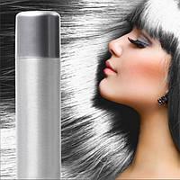 Спрей-краска для волос Серебряная временная баллончик аэрозоль 250 мл