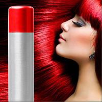 Спрей-краска для волос Красная временная баллончик аэрозоль 250 мл