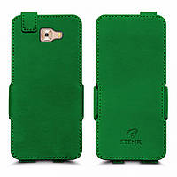 Чехол флип Stenk Prime для Samsung Galaxy C9 Pro Зелёный