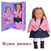 TG Кукла 1048052 R/MY 041 (8шт) Танюша, интерактивная, муз, на бат-ке, в кор-ке, 62-28-14см