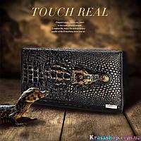 Кожаный кошелек Крокодил, фото 1