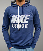Чоловіча худі (кенгурушка) Nike - цвет синий