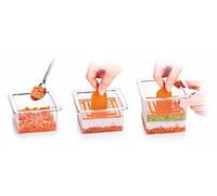 Формы для подачи блюд квадрат 3шт Tescoma 422212