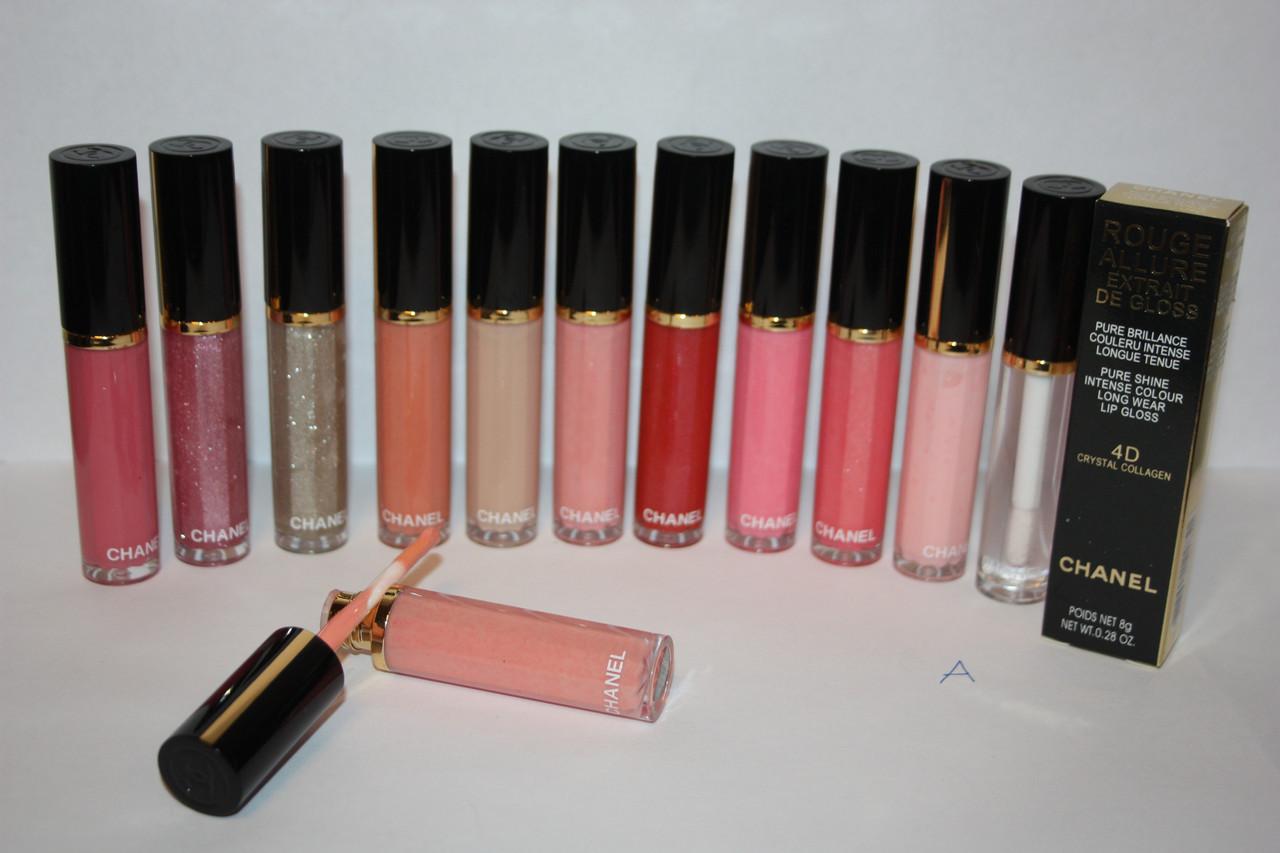 Блеск для губ Chanel Rouge Allure Extrait de gloss 4D Crystal Collagen SET A
