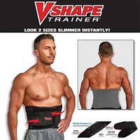 V-shape Trainer пояс для фитнеса утягивающий, поддерживающий, для похудения