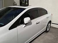 Дефлекторы окон 4D Mugen Style Honda Civic 2012-