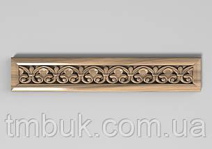 Горизонтальный декор 62 деревянная накладка - 260х100 мм, фото 2