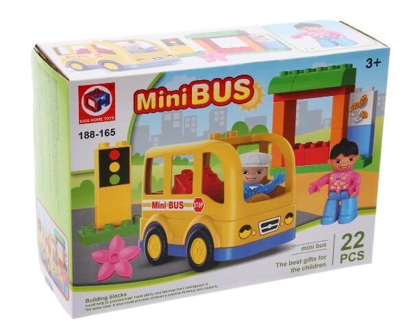 Конструктор Мини-автобус 188-165 Kids Home Toys