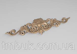 Горизонтальный декор 66 деревянная накладка - 300х80 мм, фото 2